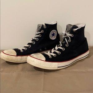 Converse Black High Top Hi Ombre Wash 157607C Sz 9